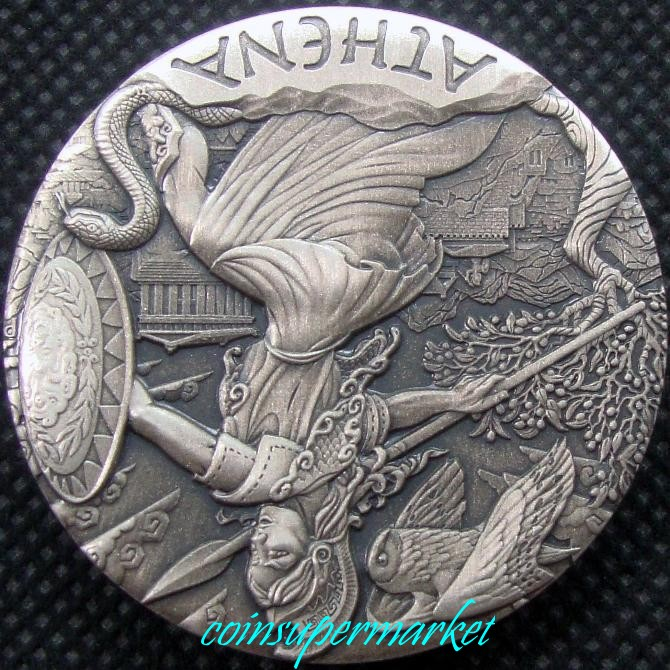 goddesses of olympus coins