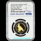 The Australian Wedge-tailed Eagle 2016 Bi-metal Coin PF70