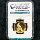 2016 Australia Wedge Tailed Eagle 1oz Gold Proof High Relief Coin NGC PF 70 UC Early Releases
