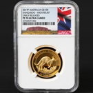 2017 Australia Kangaroo 1oz Gold Proof High Relief Coin  PF70 UC ER